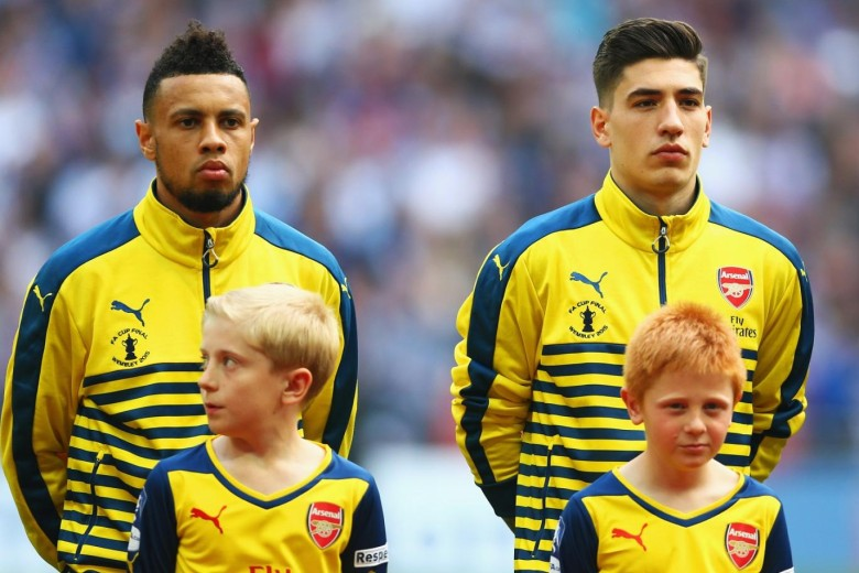 Bellerin and Coquelin represent the 'unfading' philosophy of Arsene. ( thanks to Getty)