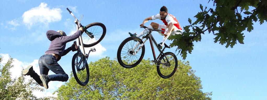 Coq jump bike