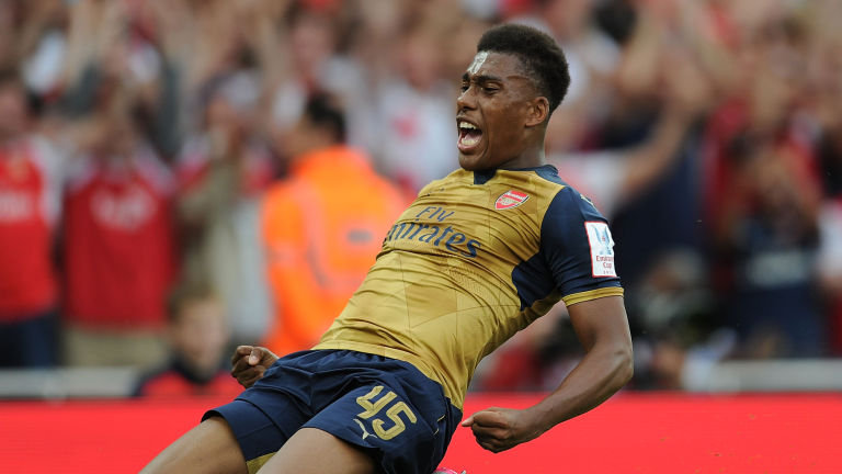 Iwobi - When would he get his chance?