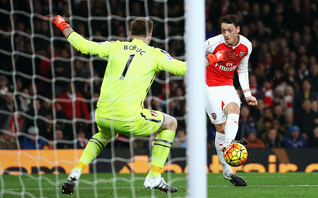 The Ozil show (thanks to Getty Images)