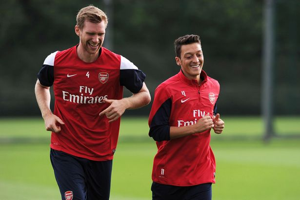 Per and Mesut will be back