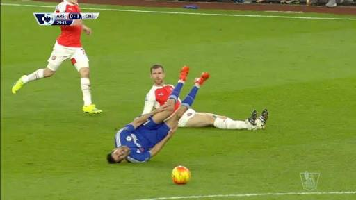 Per's needless tackle
