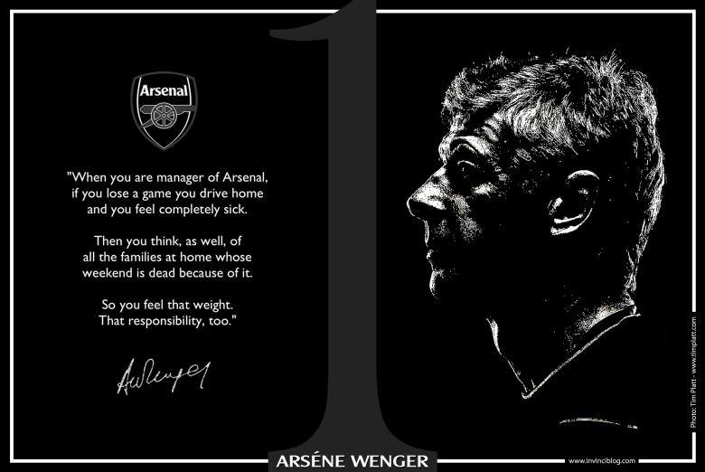 Arsene Wenger invinciblog