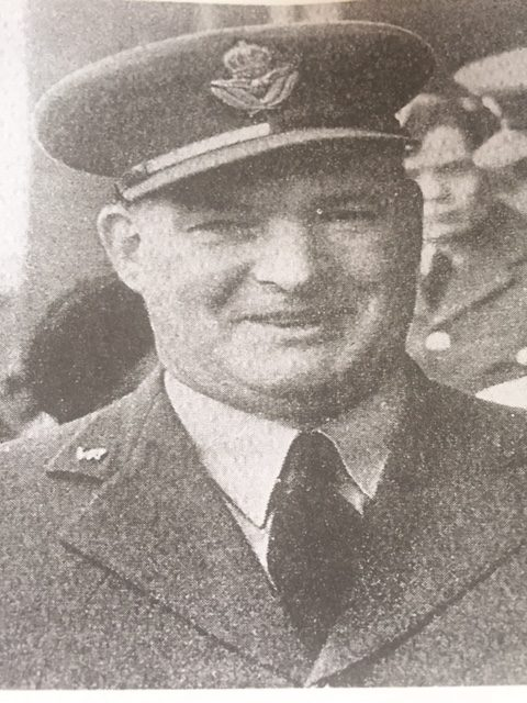 Tom as a Squadron Leader