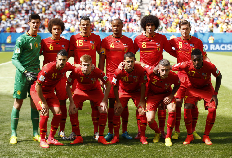 The Most expensive Squad is Belgium