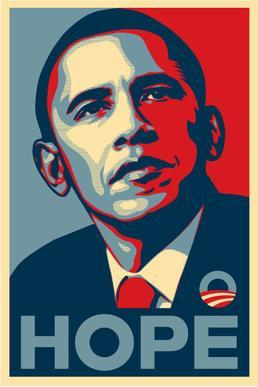 Obama - HOPE - Shephard Fairey