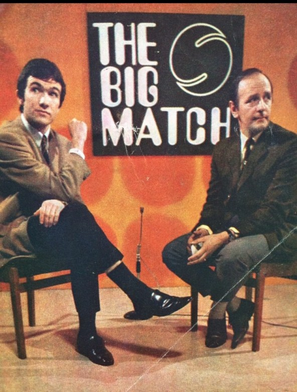 With Brian Moore in the Big Match studio