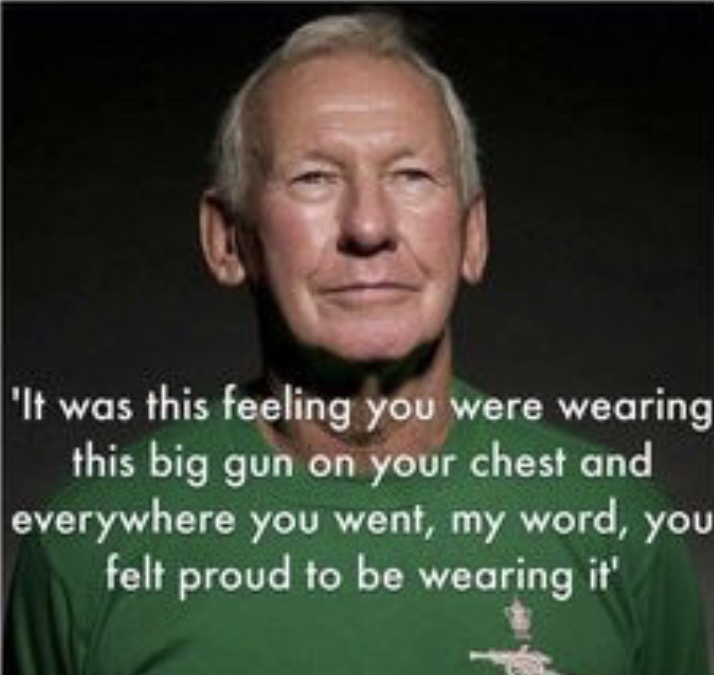 Bob Wilson remains at 75 years old an absolute gentleman who still adores Arsenal Football Club.