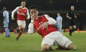 Ozil in happier times