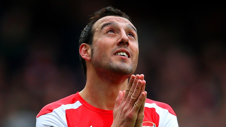 Santi is one of the many players out injured... is it because of lack of rotation?
