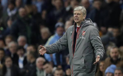 Wenger was fuming at Atkinson's antics