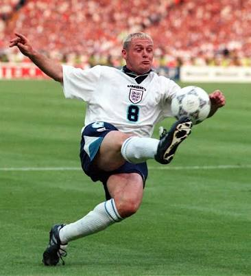 Gazza: more visible. Much.