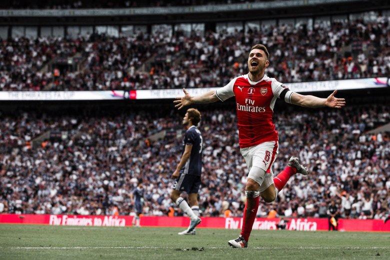 Ramsey celebrates the winner