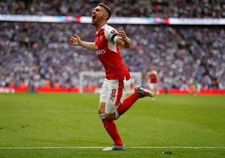 Ramsey celebrates