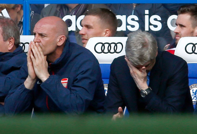 Wenger's 1000th: a game to be forgotten