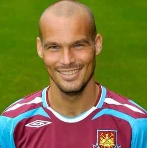 Freddie in claret and blue for West Ham United