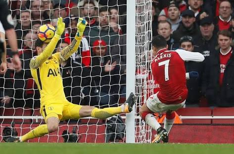 No extra point for decapitating the keeper, Alexis