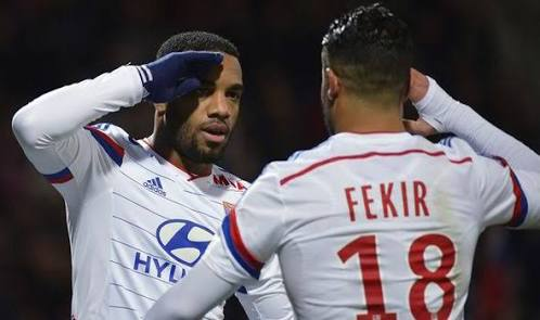 Lacazette and Fekir