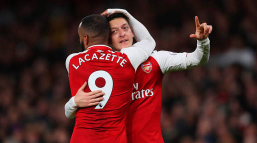 Ozil continues to impress. Sign da ting!