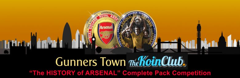 Gunners Town Koin Club Complete Pack Competition Logo