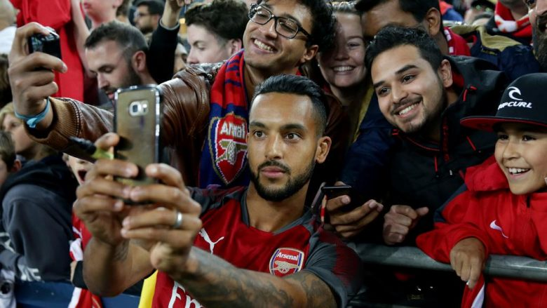 Every player is an international Gooner's favourite