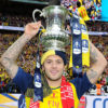 LONDON, ENGLAND - MAY 30: Arsenal's Jack Wilshere celebrates after the FA Cup Final between Aston Villa and Arsenal at Wembley Stadium on May 30, 2015 in London, England. (Photo by Stuart MacFarlane/Arsenal FC via Getty Images)