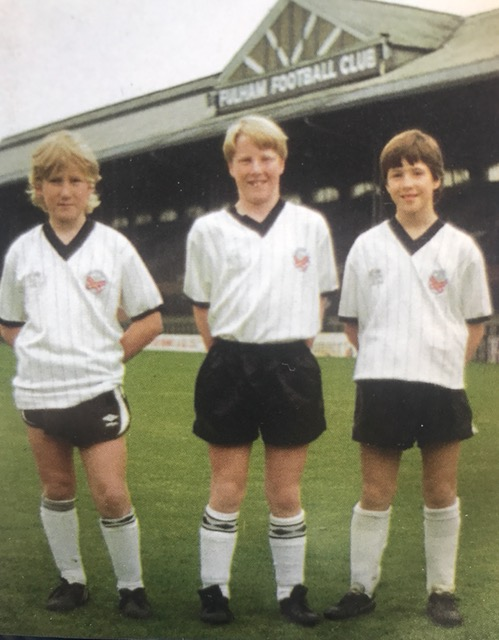 Young Ray Parlour in his Fulham days