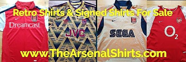 TheArsenalShirts.com banner