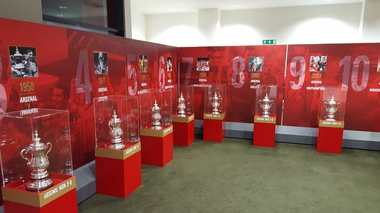 We're going to need more trophies (and not just FA Cups!)
