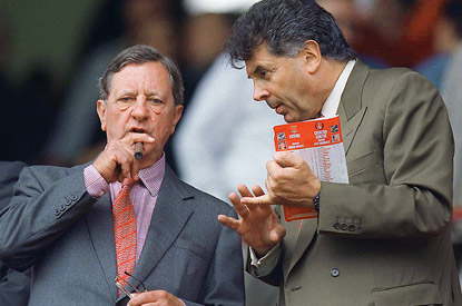 Peter Hill-Wood with David Dein