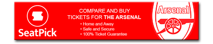 Compare and buy tickets for The Arsenal safely and securely with 100% Ticket Guarantee