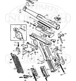 amt auto pistols lightning pistol gun schematic [ 800 x 1029 Pixel ]