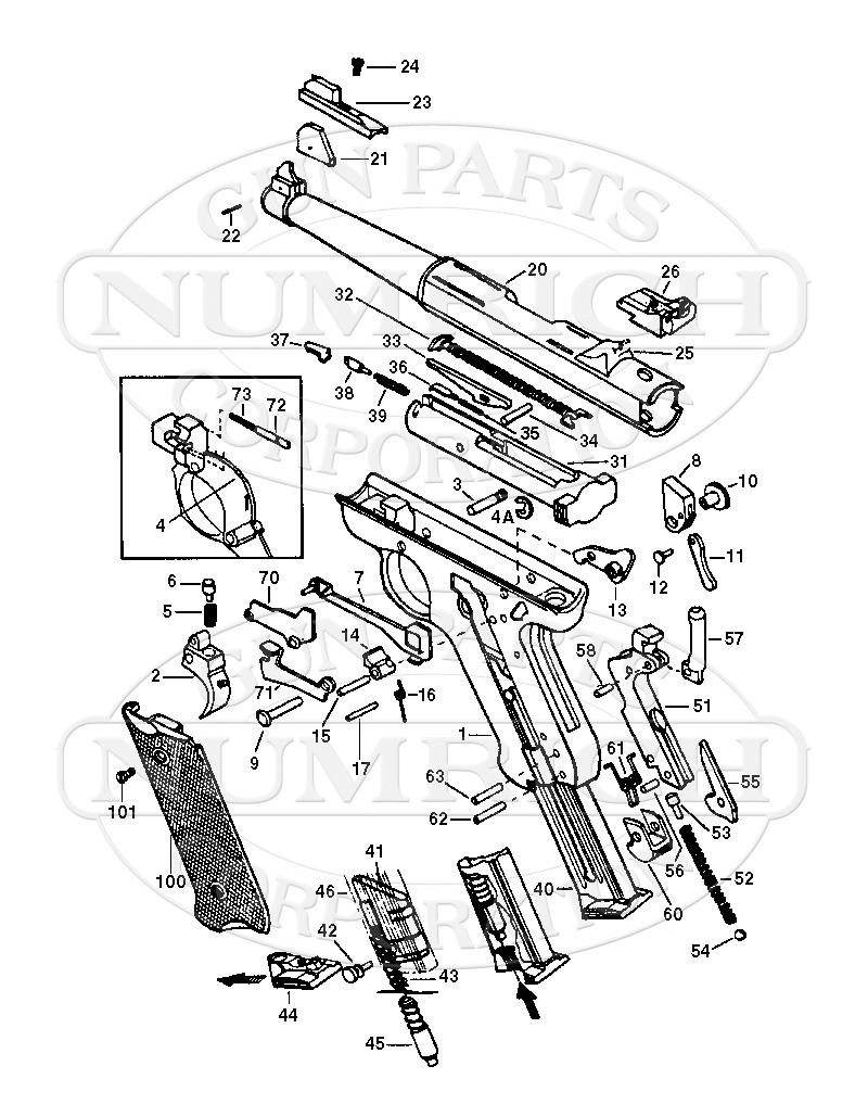 hight resolution of amt auto pistols lightning pistol gun schematic