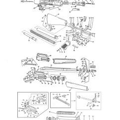M16 Exploded Diagram O2 Sensor Wiring Parts List Schematic Numrich Gun