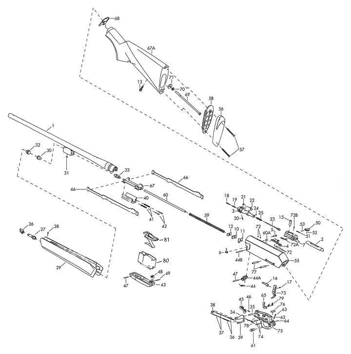 Browning Bar Parts Diagram