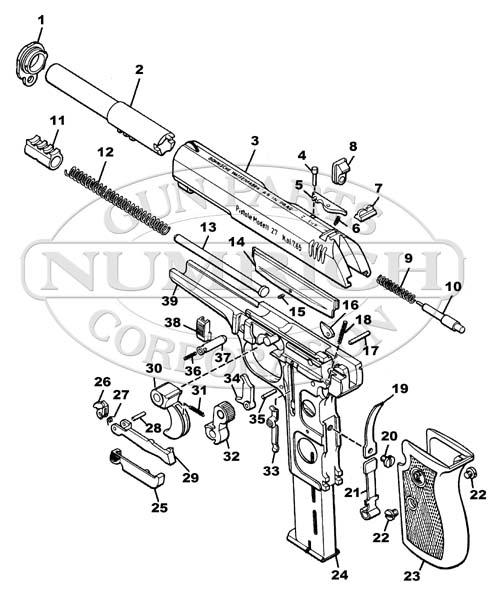 Mosin Nagant Gun Schematic