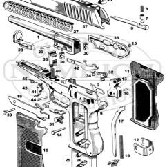 Basic Gun Diagram Simplicity Regent Lawn Tractor Wiring 52 Pistol Schematic Numrich Cz Auto Pistols