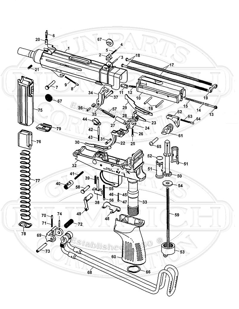hight resolution of cz machines guns vz 61 skorpion smg gun schematic