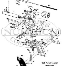colt revolvers frontier scout g k q frame gun schematic [ 800 x 1030 Pixel ]