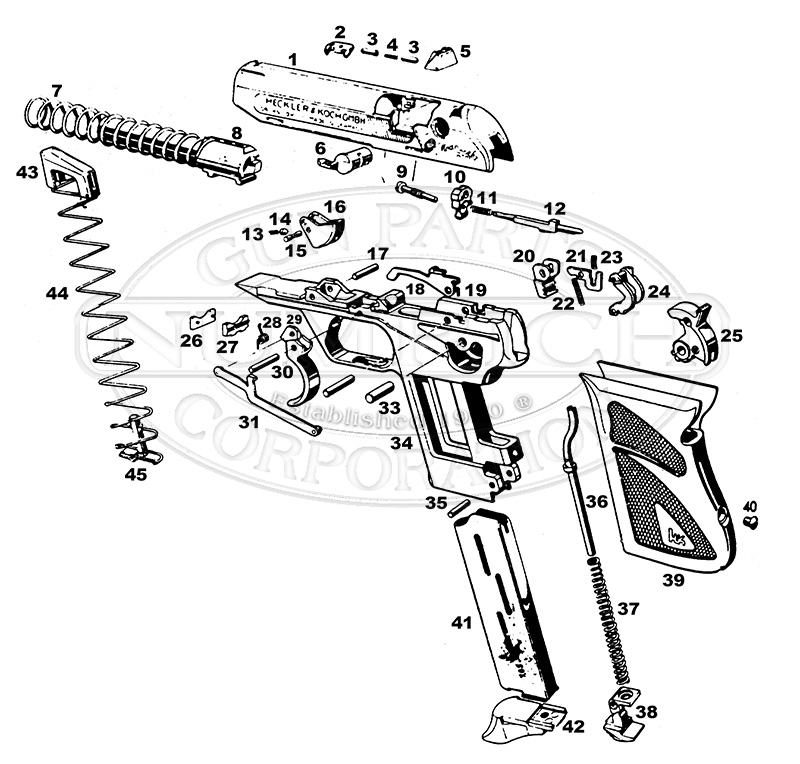 kel tec p11 parts diagram parallel switch wiring free for you walther ppq source exploded