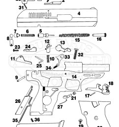 hi point model c9 gun schematic [ 800 x 1110 Pixel ]