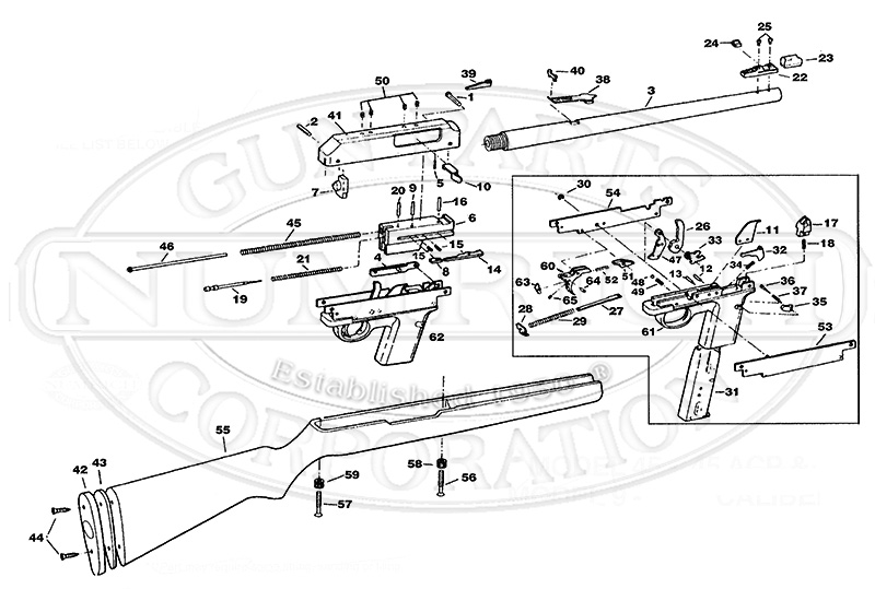 kinetico parts diagram headphone with mic wiring marlin glenfield model 60 schematic - diy enthusiasts diagrams