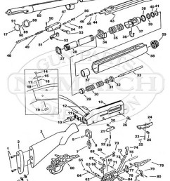 mossberg shotguns 9200 gun schematic [ 800 x 1016 Pixel ]