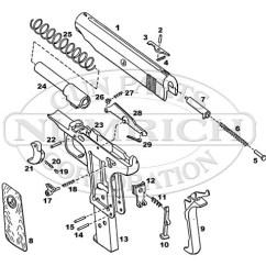Basic Gun Diagram Swimming Pool Sand Filter Pocket Semi Auto Pistol Schematic Numrich Ortgies