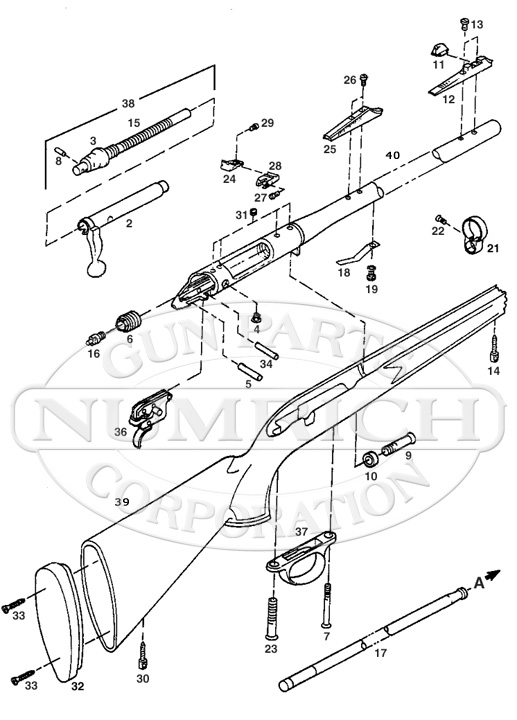 remington 700 trigger parts diagram