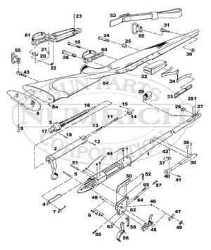 Remington 700 Parts List Schematic | Numrich