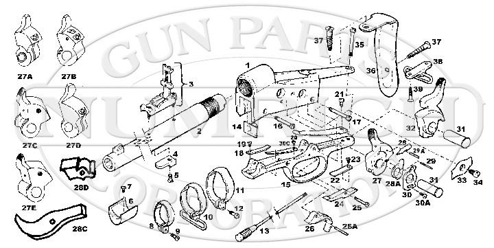 Remington Rolling Block No. 1 & 1-1/2 Single Shot Rifle