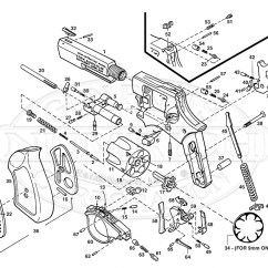 Ruger Pistol Parts Diagram Octopus Water Vascular System Sp101 Gun Corp Revolvers Schematic