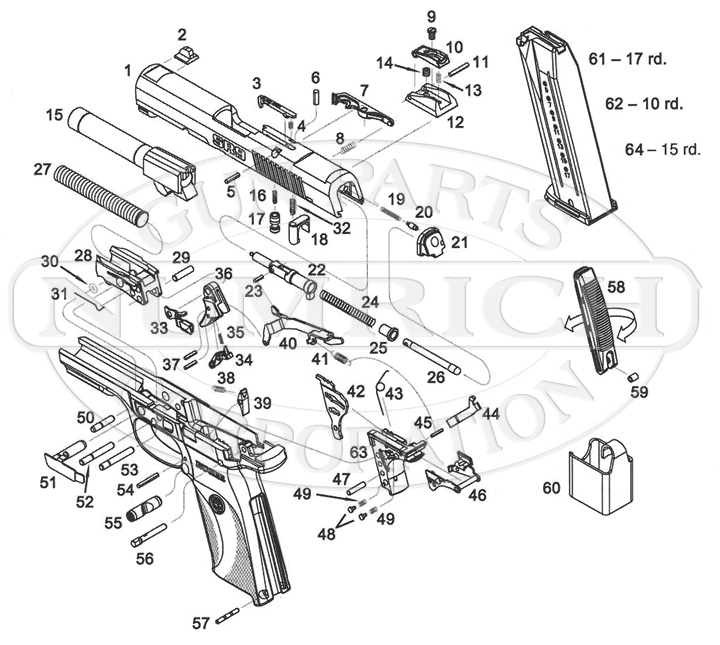 ruger pistol parts diagram liver and spleen sr40 gun corp auto pistols schematic