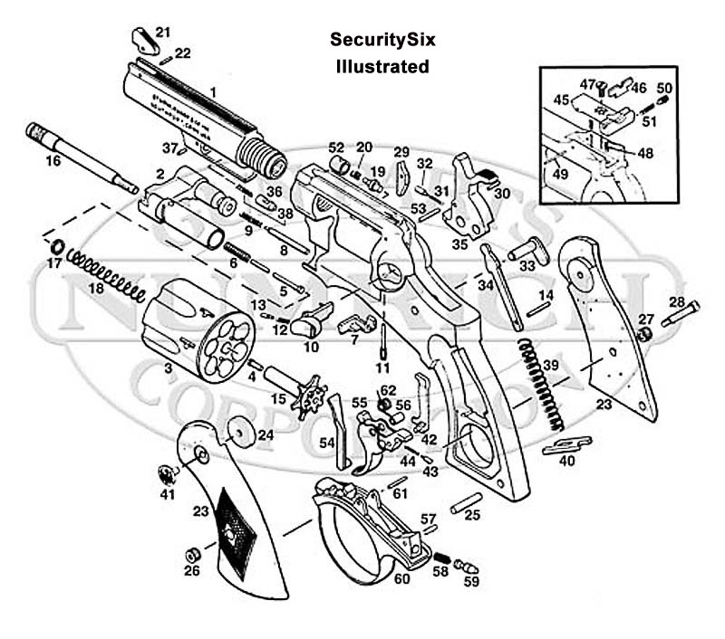 Taurus Revolver Parts Diagram